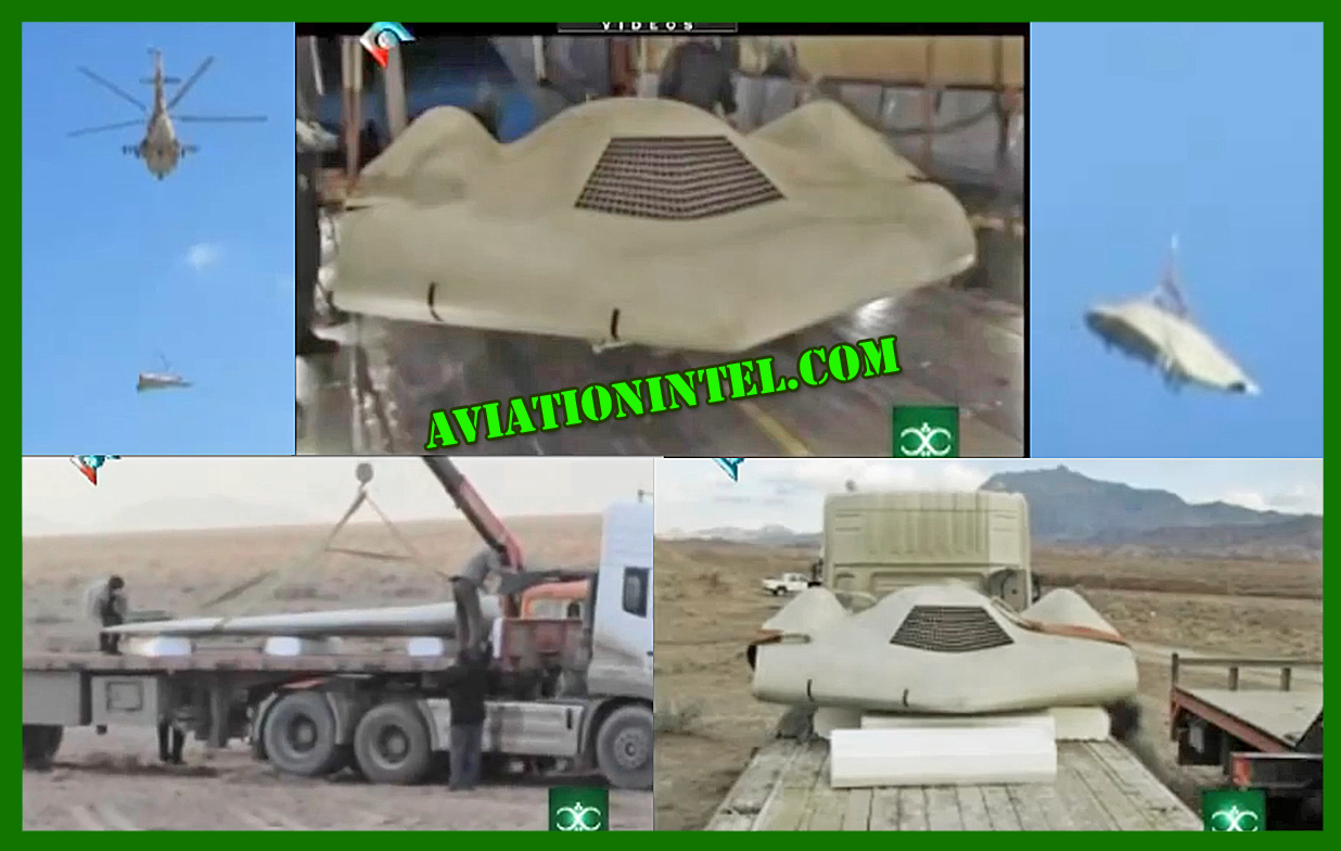 Iran Military Advancements: News RQ-170