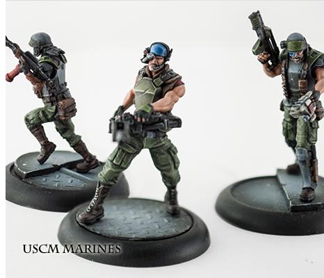 Aliens vs Predator: The Hunt Begins Marines