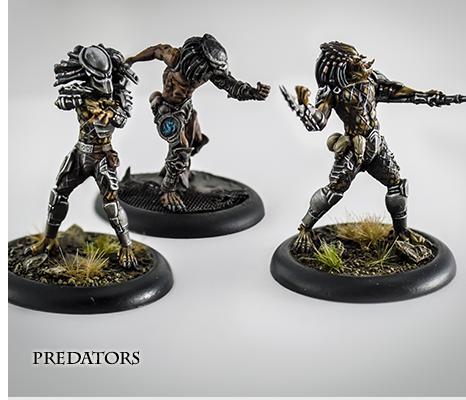 Aliens vs Predator: The Hunt Begins Predators