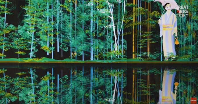 77-year-old Tatsuo Horiuchi Creates Beautiful Art Using Microsoft Excel 2017-12-02_16-55-58-696x366