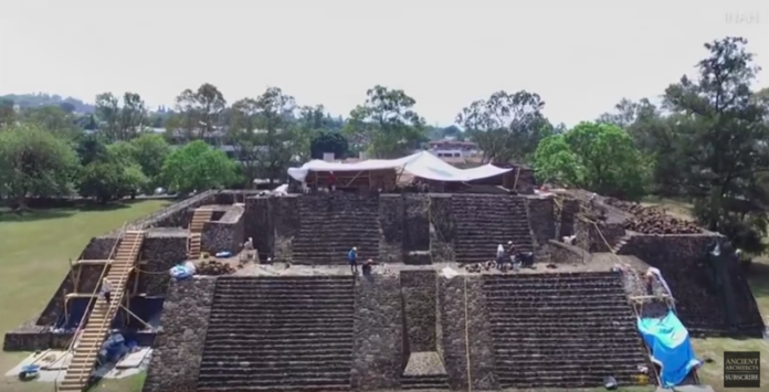 Earthquake-damaged Aztec Pyramid Reveals Ancient Temple – Ancient Architects 2018-07-12_21-04-37-696x355