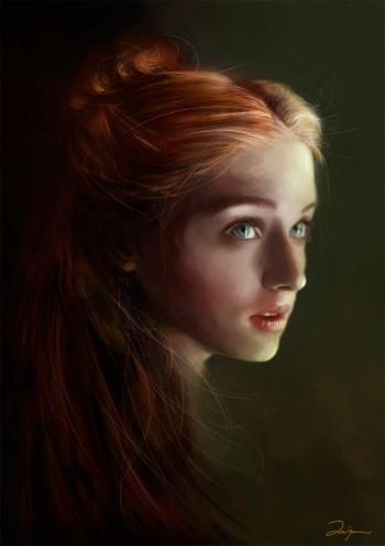 Sansa Stark 350px-Sansa_Stark_by_AniaEm