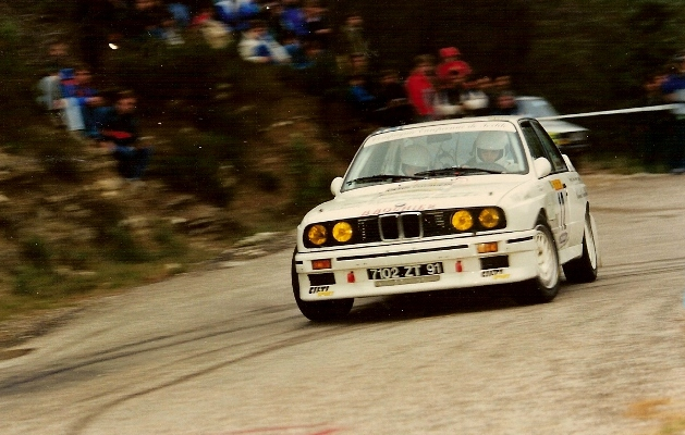 My GXI 9427 Collection - Page 4 Cevennes.1988.F.Delecour.A.Ch.Pauwels.BMW.M3.gr.A.PGe