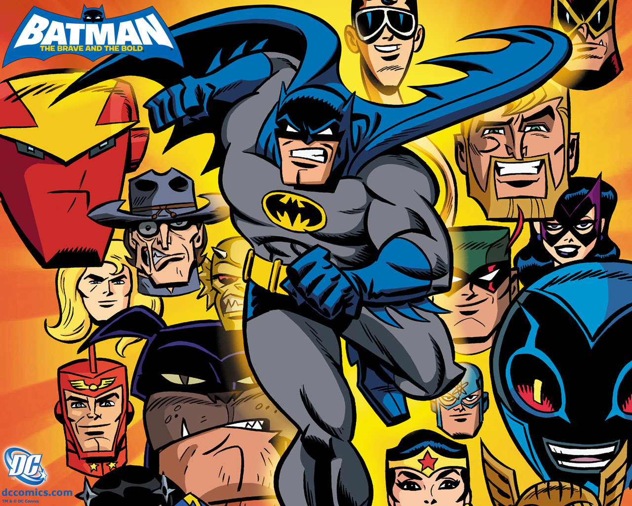 DC Animation Batman-the-brave-and-the-bold