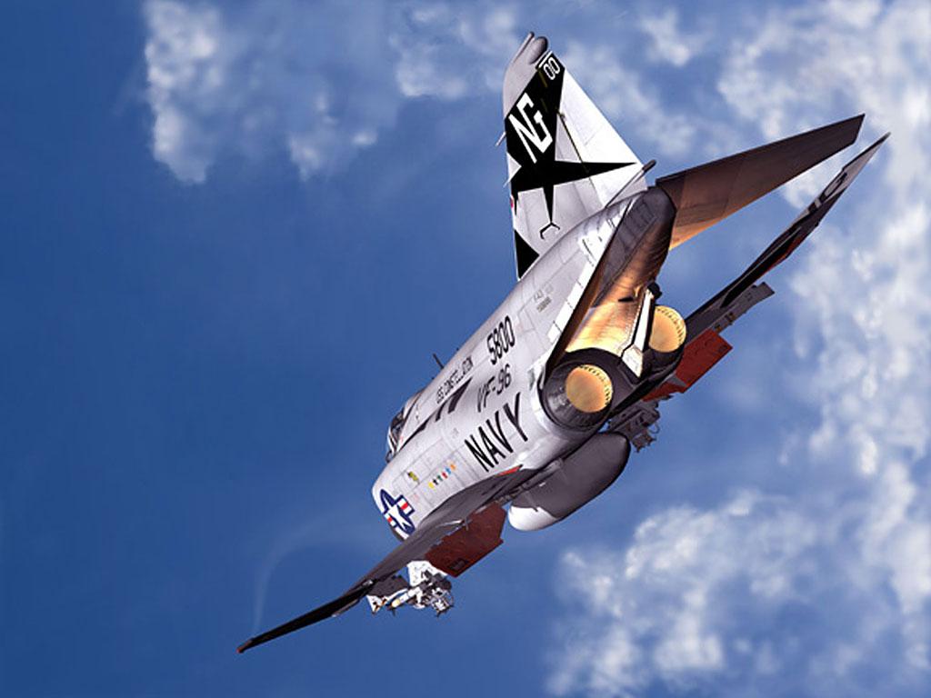 McDonnell Douglas F-4 Phantom IIN (interceptor y cazabombardero supersónico, biplaza, bimotor y de largo alcance USA) - Página 2 F4-Phantom