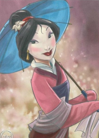 [Collection] Les lithographies Disney Mulan01