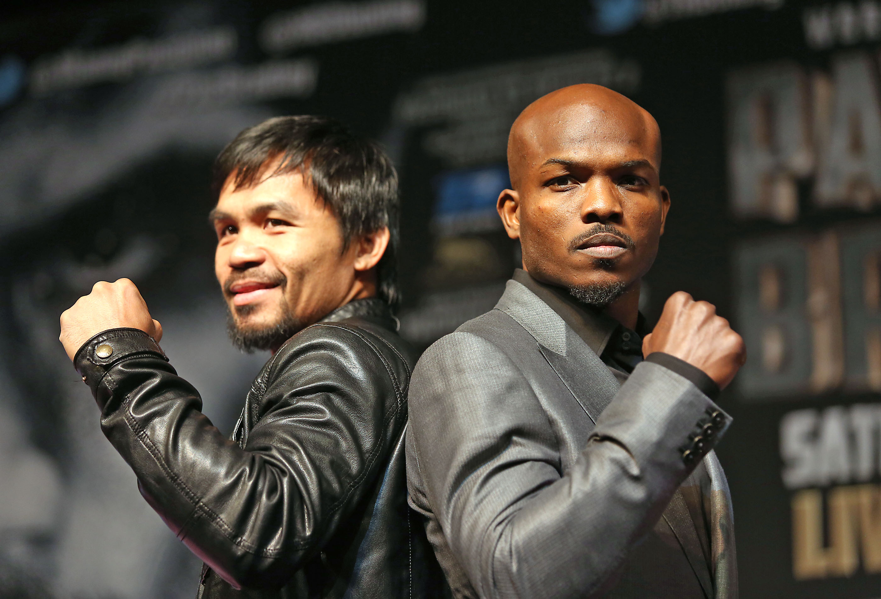 ¿Cuánto mide Manny Pacquiao? - Altura - Real height Floyd-Mayweather-y-Manny-Pacquiao