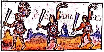 TEOCHIUATAN Yume Aztec-Warriors-Florentine-Codex-IX-Warriors
