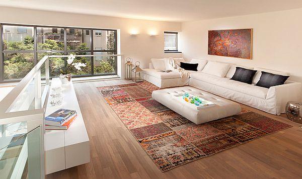 كيفية إضافة سجادة  للمنزل بطريقة أكثر تنسيقا  Amazing-Ideas-on-How-to-Add-Rugs-in-All-Rooms-of-your-House_18