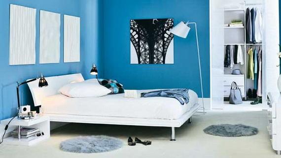 تداخل الازرق في الديكورات المنزليه يهدئ الاعصاب Blue-nterior-Decorating-Ideas-or-Each-Room-of-the-House_03