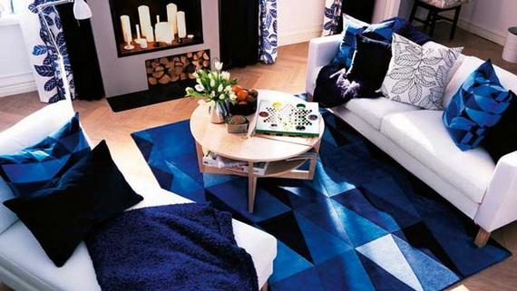 تداخل الازرق في الديكورات المنزليه يهدئ الاعصاب Blue-nterior-Decorating-Ideas-or-Each-Room-of-the-House_06