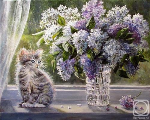 Кошки в живописи 67911033661a