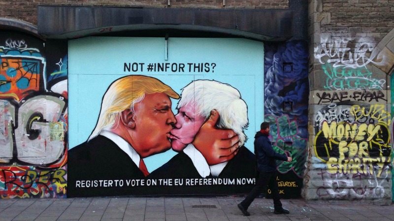 Breadman and Karlypants - Page 4 Donald-trump-boris-johnson-stokes-croft-bristol-1464067831