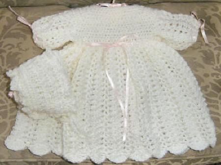 فساتين الملاك الصغير قوي Dressset-whitepinkribbons