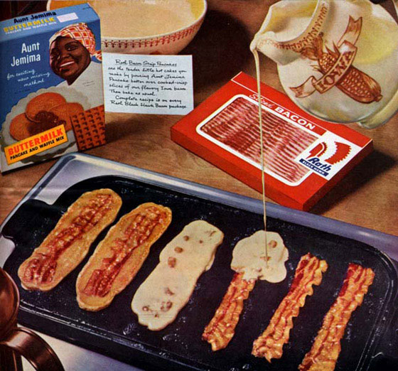 Just for the fun of it! Bacon-pancakes