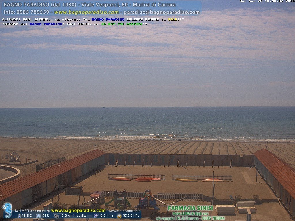 webcam marina di carrara