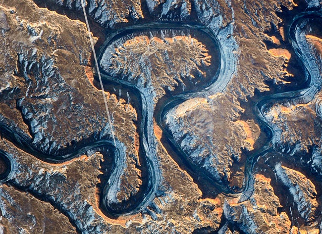 صور لكوكب الأرض والظواهر الطبيعية  من الفضاء !! 11