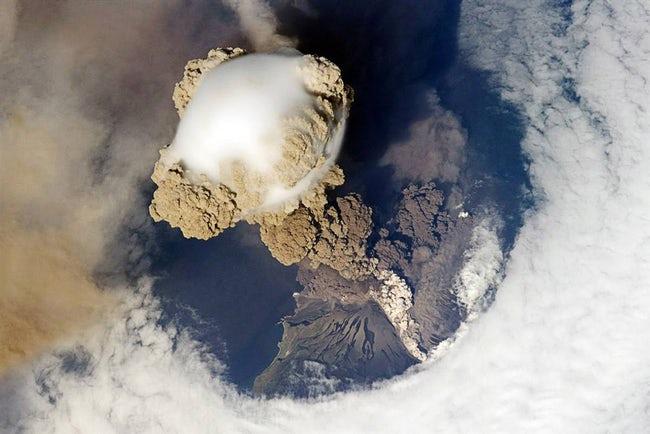 صور لكوكب الأرض والظواهر الطبيعية  من الفضاء !! 16