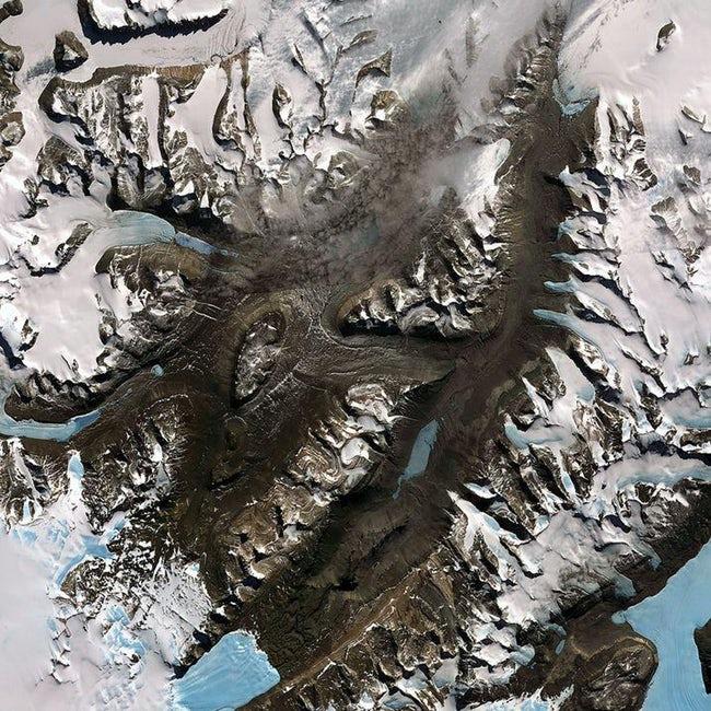 صور لكوكب الأرض والظواهر الطبيعية  من الفضاء !! 2