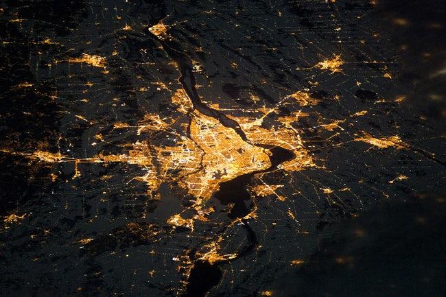 صور لكوكب الأرض والظواهر الطبيعية  من الفضاء !! 5