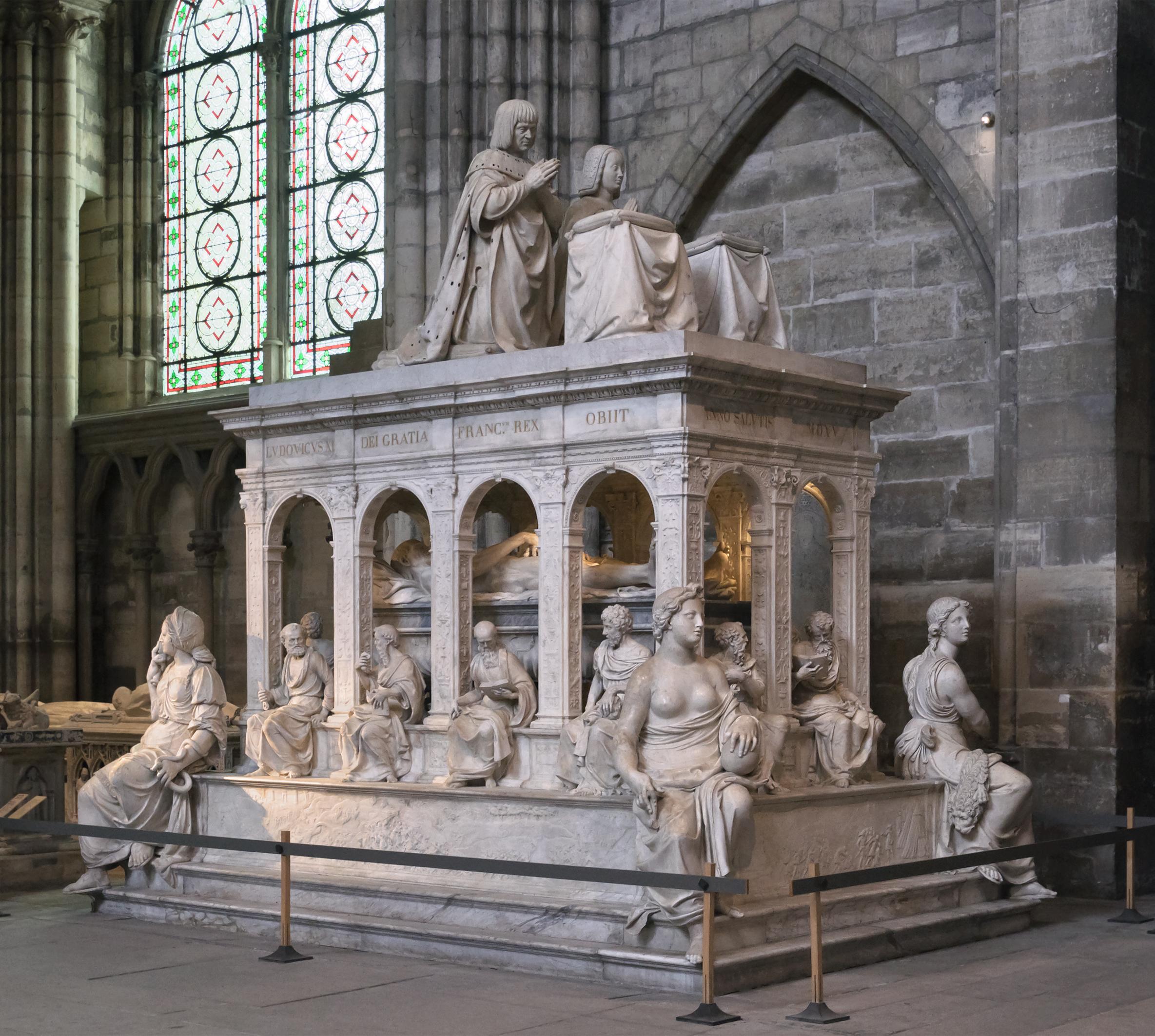 Bon Dimanche Basilique_Saint-Denis_Louis_XII_Anne_de_Bretagne_tombeau