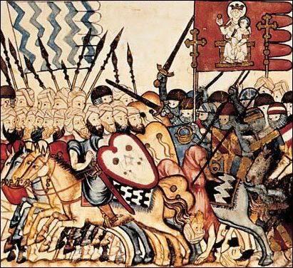 [Histoire] Miniature des Cantigas de Alfonso- XIIIe siècle 550362_560387793981322_1866526882_n