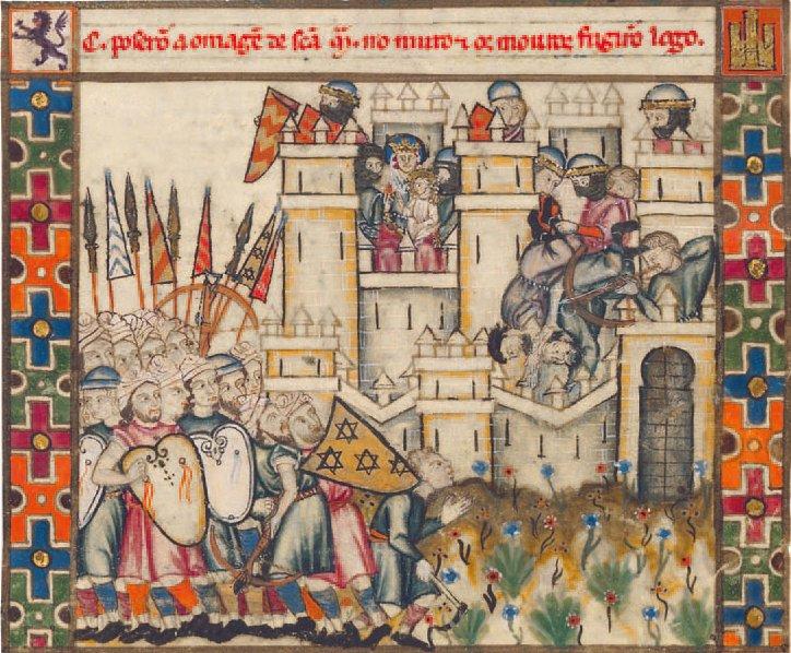 [Histoire] Miniature des Cantigas de Alfonso- XIIIe siècle Cantigas_de_santa_maria-187b-4