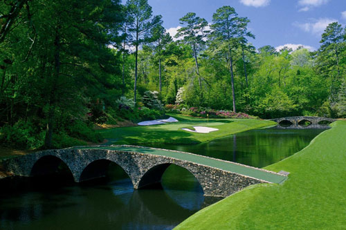 The US Masters at Augusta. Amen_corner