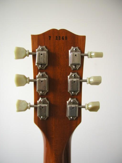 Gibson Les Paul Goldtop Reissue 57 Custom Authentic LP_dos_tete