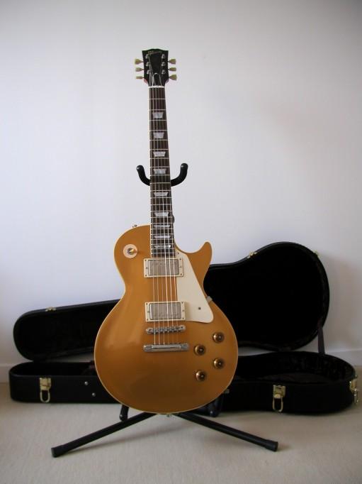 Gibson Les Paul Goldtop Reissue 57 Custom Authentic LP_face