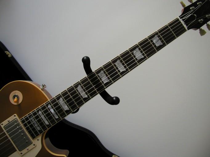 Gibson Les Paul Goldtop Reissue 57 Custom Authentic LP_face_manche