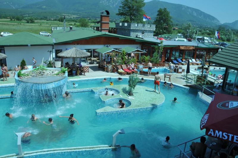 Omiljeno mjesto za odmor Banja-zdrelo-bazeni