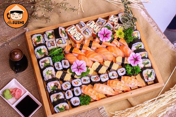 Alo Sushi - Nhà hàng đầu tiên triển khai dịch vụ sushi ship tận nhà Hà Nội Sushi-ship-tan-nha-ha-noi