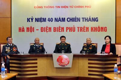 """Tọa đàm trực tuyến: 40 năm chiến thắng """"Hà Nội – Điện Biên Phủ trên không"""" DSC_0007"""