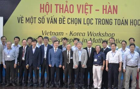 Các nhà toán học Việt Nam – Hàn Quốc cùng chia sẻ ý tưởng nghiên cứu 1_322483