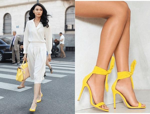Phụ kiện thời trang: Giày màu gì dễ mặc quần áo? Bí quyết các nàng không thể bỏ  Giay-mau-gi-de-mac-quan-ao-889