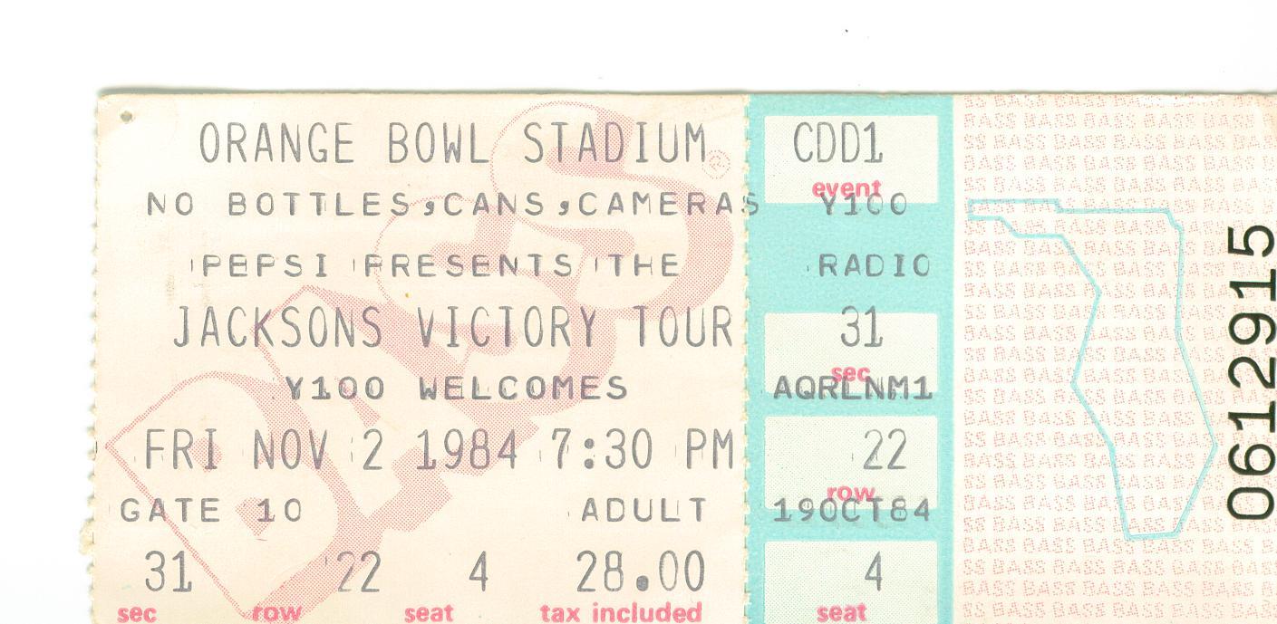 Biglietti dei concerti Jacksons