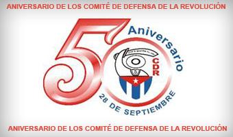 A 50 años de los Comités de Defensa de la Revolución (CDR), sus carteles: arte y comunicación para persuadir  Logo_cdr_50_aniversario