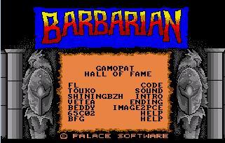 [terminé ] Barbarian sur PC engine (hucards envoyées) GAMOPAT