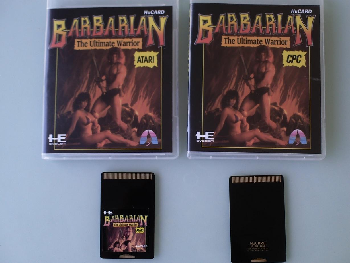 [terminé ] Barbarian sur PC engine (hucards envoyées) Hucards01