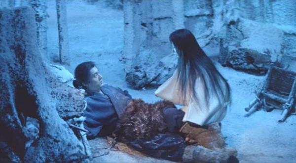 10 pelis asiáticas Kwaidan-1964-the-woman-of-the-snow-yuki-onna-keiko-kishi-tatsuya-nakadai