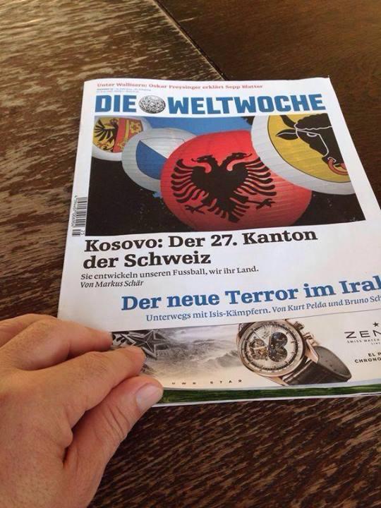 Kombëtarja shqiptare e Zvicrës Kosova-kantoni