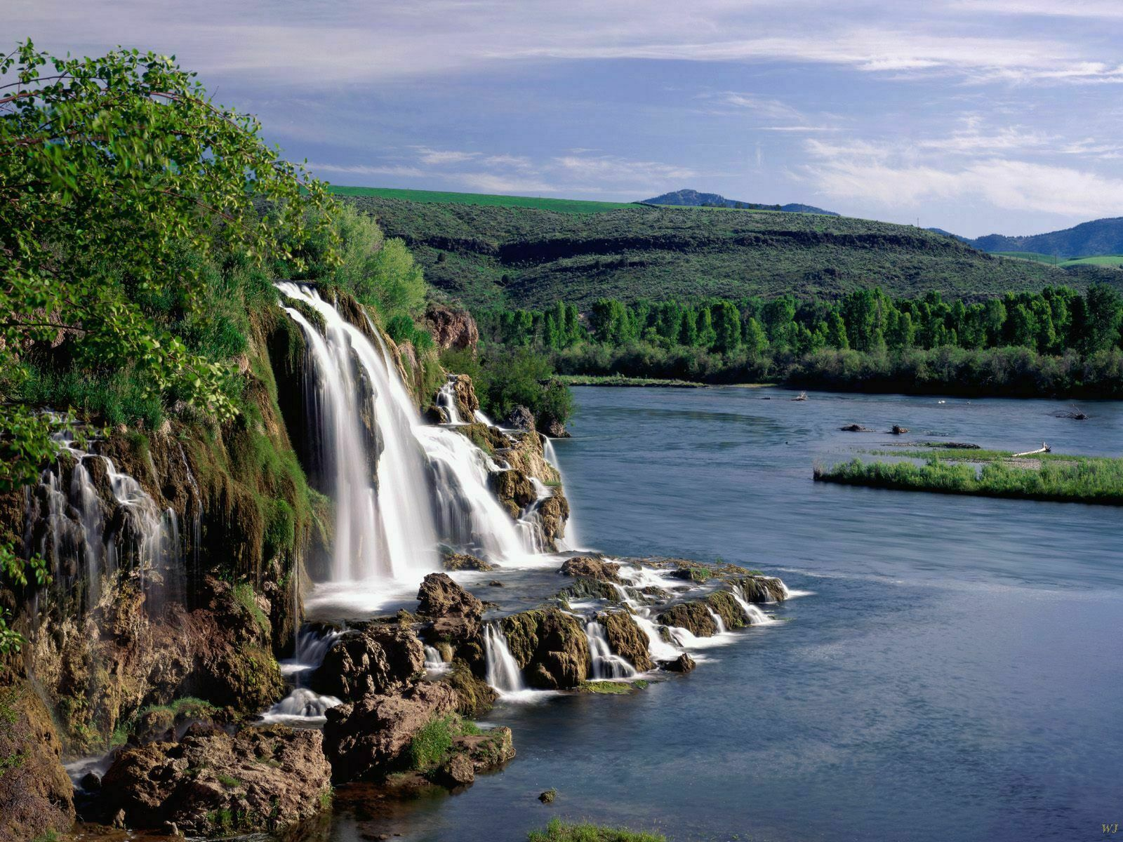Pejzaži i prirodne lepote Zemlje Landscape-fall-creek-falls-and-snake-river-idaho