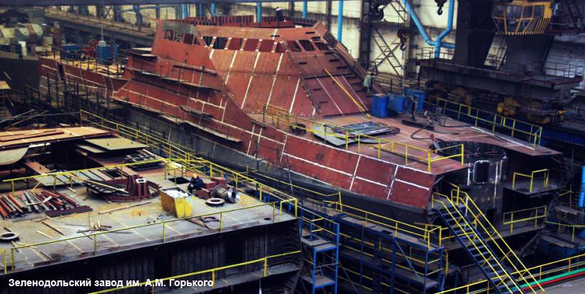 Project 22160 Bykov-class patrol ship - Page 5 22160_ZSSZ_160607_01