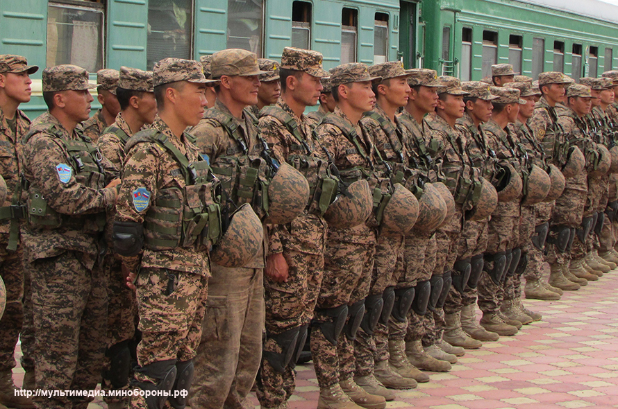 Russia's joint military exercises with foreign countries SELENGA-2016_160830_02