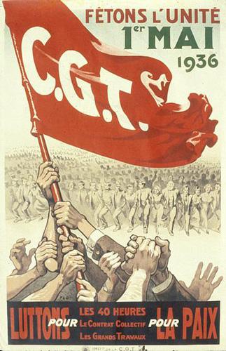 L'affissu per mimoria Cgt-affiche-1936