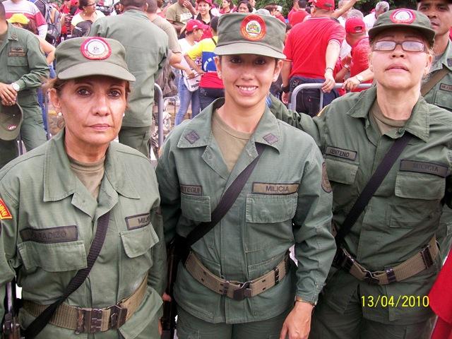 Mujeres en la fuerza Armada Bolivariana!  442f7ca4096e6d87cf4a0b01751180ad