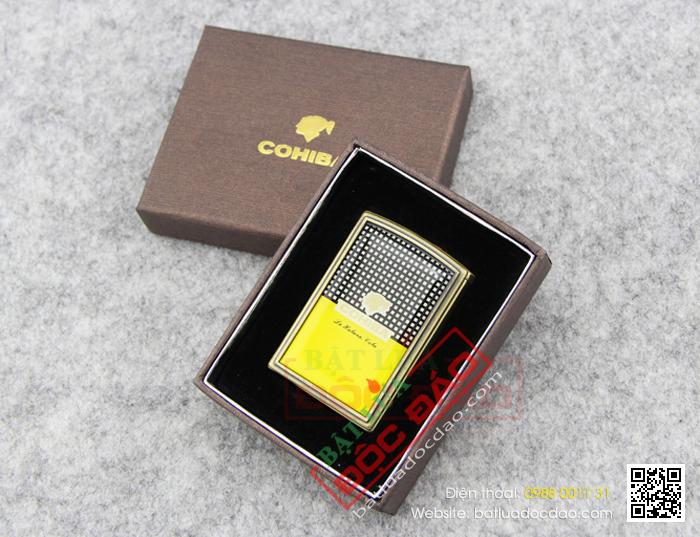 Bật lửa khò xì gà (cigar) Cohiba 1 tia H078, quà tặng sếp 1445825374-bat-lua-hut-cigar-chinh-hang-cohiba-h078-08
