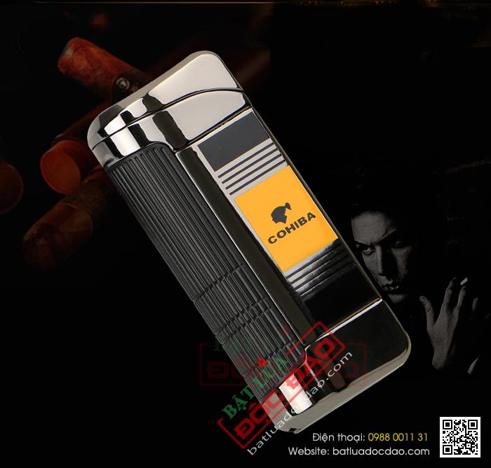 Hộp quẹt khò xì gà, hộp quẹt Cohiba H085 hcm 1445833760-bat-lua-hut-cigar-chinh-hang-cohiba-h085-03