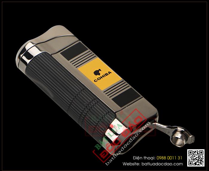 Hộp quẹt khò xì gà, hộp quẹt Cohiba H085 hcm 1445833760-bat-lua-hut-cigar-chinh-hang-cohiba-h085-08